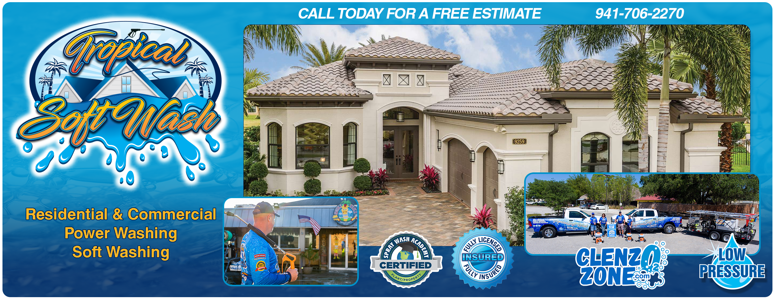 Tropical SoftWash LLC Sarasota Florida